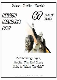 Resources Free Printable Worksheets Nelson Mandela Educational Resources Free Printable Worksheets