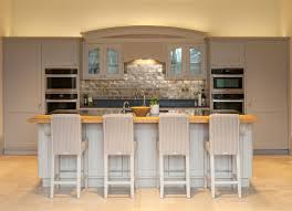 Glass Shelves For Kitchen Cabinets Hampshire Taupe Kitchen Cabinets Traditional With Bar Chairs Hutches