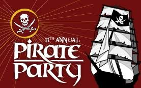 pirate party pirate party on the usa