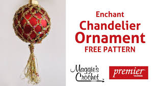 enchant ornament free crochet pattern right handed
