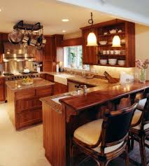 incredible tropical kitchen design in home decorating ideas with