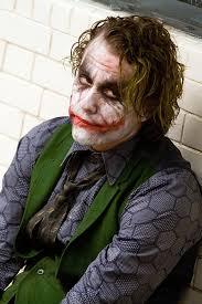 heath ledger as the joker the 2008