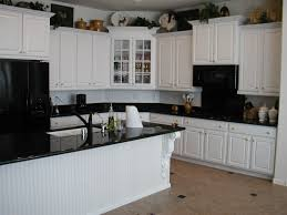 kitchen ideas white cabinets black countertop design home design