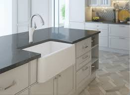 Kitchen With Farm Sink - tips from granite grannies fabricating for an apron front sink