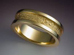 14k gold wedding band 14k gold wedding band with rock texture metamorphosis jewelry design