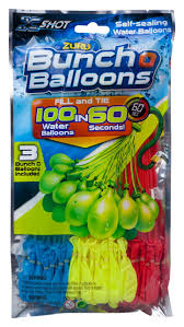bunch balloons zuru bunch o balloons colors vary fill and tie 100 water balloons