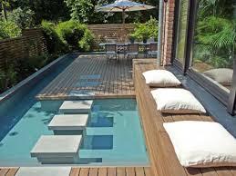 naturalist house in backyard pool ideas designoursign