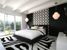Black And White Bedroom Design Bedroom Black And White Yellow Bedroom Modern Designed In
