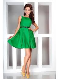 koketna rokli рокля в зелено