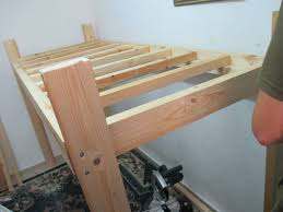 Wooden Loft Bed Plans by How To Build A Loft Bed Diy Tutorial And Plans Apartment