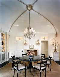 decorations classy dining room design with high ceiling