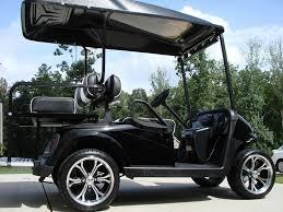 ez go rxv golf cart bulldog carts u2014 tuxedo black golf carts