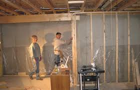 a look at a mostly diy basement renovation
