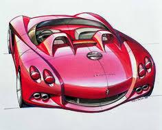 ferrari 488 gtb design sketch sketch illustration pinterest