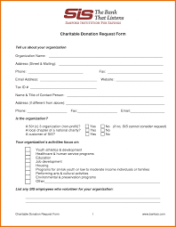 generic donation form free templates for tickets