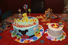 mickey mouse clubhouse birthday cake mickey mouse clubhouse 1st birthday theme cake and smash