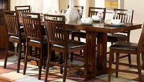 Tall Dining Room Sets Interesting Decoration Counter Height Dining Table With Leaf