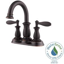 Centerset Faucet Definition by Pfister Langston 4 In Centerset 2 Handle Bathroom Faucet In