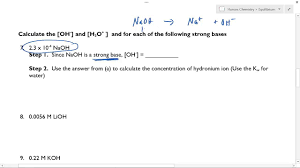 honors chemistry acids and bases helper youtube