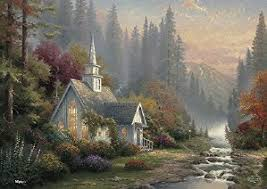 home interiors kinkade prints kinkade forest chapel for sale only 3 left at 60