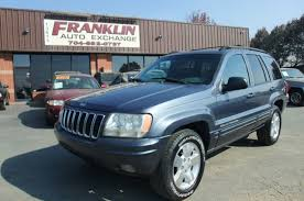 2001 jeep fuel economy 2001 used jeep grand 4dr limited 4wd at franklin auto