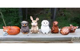 woodland cake toppers woodland animals cake toppers avalon cakes
