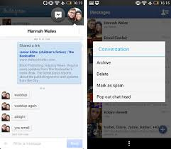 fb app android updates its messenger app for android adding chat heads