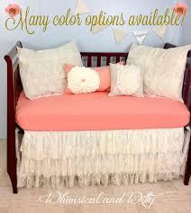 baby bedding crib bedding shabby chic vintage lace baby