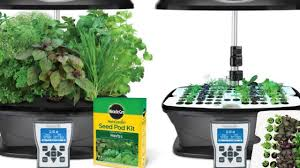 miracle gro aerogarden ultra indoor garden with gourmet herb seed