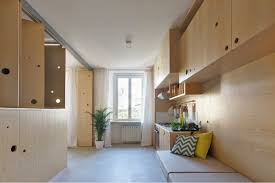measuring in at just 322 sqft or 30sqm this italian apartment