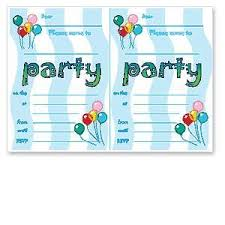 birthday invitation templates birthday party invitation templates kawaiitheo