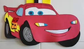 como hacer gorras de fomix del cars resultado de imagen para como hacer rayo mcqueen en foami word