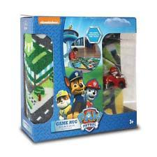 paw patrol marshall in fire truck toy car adventure game rugs play