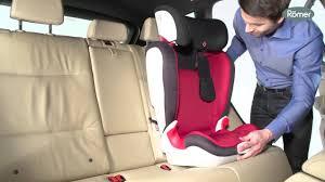 siege auto romer kidfix xp sict installation du siège auto kid xp groupes 2 et 3 de römer