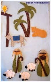 25 diy nativity toilet paper rolls and wooden blocks