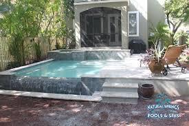 small pools and spas spools ta natural springs pools