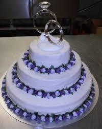wedding cake lavender lavender purple wedding cake cakecentral