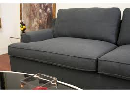 Modern Sectional Sofa With Chaise Studio Kaspar Slate Gray Fabric Modern Sectional Sofa