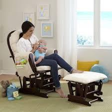 White Glider Rocker Best Nursery Rocking Chair October 2017