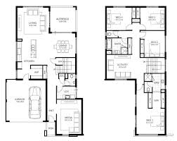 2 Master Suite House Plans Bedroom Single Story House Plans Bath 2single Floor With Basement