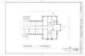 Floor Plan Survey Smithsonian Institution Building Second Floor Plan East Range