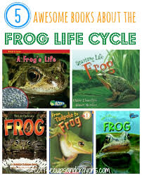 frog cycle books kids coffee cups crayons