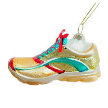 running shoe glass ornament wondershop target