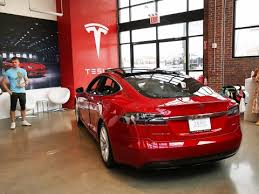 tesla showrooms are getting remodeled for the model 3 business