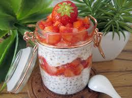 cuisine de a à z verrines recette bio porridge froid aux fraises