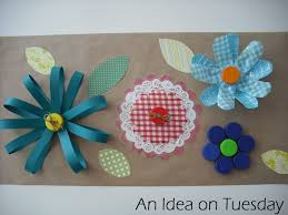 an idea on tuesday recycled flowers