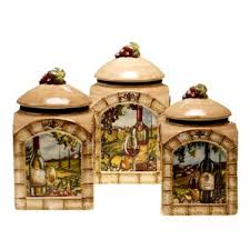 kitchen decorative canisters https secure img2 fg wfcdn com im 34151029 resiz