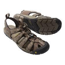 keen clearwater cnx mens brown waterproof walking hiking sandals