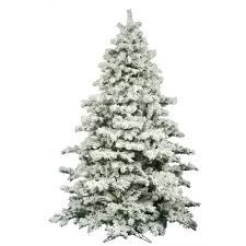 interior design flocked christmas trees decorations flocked