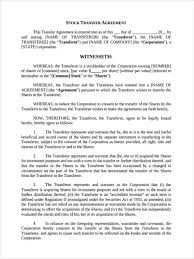 Sample Investment Agreement 7 Stock Transfer Form Sample Free Sample Example Format Download